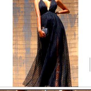Beautiful Low Maxi Dress Size L